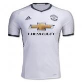 16-17 Manchester United Third Away White Jersey Shirt(Player Version)