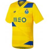 16-17 Porto Away Yellow Soccer Jersey Shirt