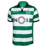 16-17 Sporting Lisbon Home Soccer Jersey Shirt
