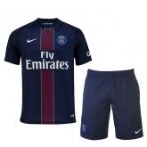 16-17 PSG Home Soccer Jersey Kit(Shirt+Short)