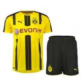 16-17 Borussia Dortmund Home Jersey Kit(Shirt+Short)