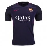 16-17 Barcelona Away Deep Purple Soccer Jersey Shirt