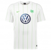 16-17 Wolfsburg Away White Soccer Jersey Shirt