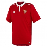 16-17 Sevilla Away Red Soccer Jersey Shirt