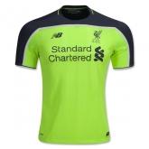 16-17 Liverpool Third Away Green Soccer Jersey Shirt