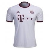 16-17 Bayern Munich Away White Jersey Shirt