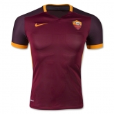 15-16 Roma Home Red Soccer Jersey Shirt(Player Version)