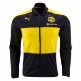 16-17 Borussia Dortmund Yellow&Black Track Jacket