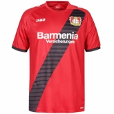 16-17 Bayer 04 Leverkusen Away Red Jersey Shirt