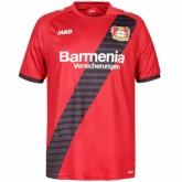 16-17 Bayer 04 Leverkusen Away Red Jersey Shirt