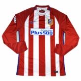 16-17 Atletico Madrid Home LFP Version Long Sleeve Jersey Shirt