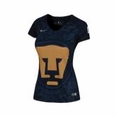 16-17 UNAM Pumas Away Navy Women's Jersey Shirt