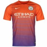 16-17 Manchester City Third Away Jersey Shirt