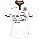 16-17 OGC Nice Away Whirt Soccer Jersey Shirt