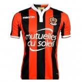 16-17 OGC Nice Home Soccer Jersey Shirt