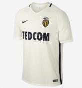 16-17 AS Monaco FC Away White Soccer Jersey Shirt