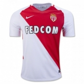 16-17 AS Monaco FC Home Soccer Jersey Shirt