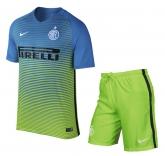 16-17 Inter Milan Third Away Green Children's Jersey Kit(Shirt+Short)