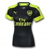 16-17 Arsenal Third Away Navy Women's Jersey Shirt