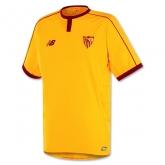 16-17 Sevilla Away Yellow Soccer Jersey Shirt