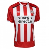 16-17 PSV Eindhoven Home Red&White Jersey Shirt
