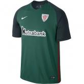 16-17 Athletic Bilbao Away Green Jersey Shirt