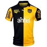 16-17 Club Atlético Peñarol Home Yellow&Black Jersey Shirt