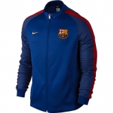 16-17 Barcelona Navy&Red N98 Track Jacket