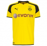 16-17 Borussia Dortmund European Home yellow Jersey Shirt