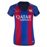 16-17 Barcelona Home Women's Soccer Jersey Shirt