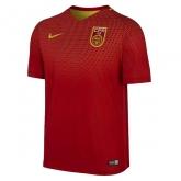 2016 China PR Home Red Soccer Jersey Shirt