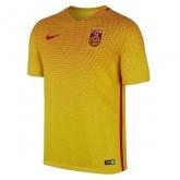 2016 China PR Away Yellow Women's Jersey Shirt