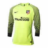 16-17 Atletico Madrid Goalkeeper Green Long Sleeve Jersey Shirt