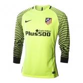 16-17 Atletico Madrid Goalkeeper Green Long Sleeve Jersey Shirt