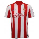 16-17 Sporting Gijón Home Soccer Jersey Shirt