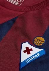 16-17 SD Eibar Home Red&Blue Soccer Jersey Shirt