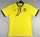 16-17 Club America 100-Yeas Yellow Anniversary Jersey Shirt