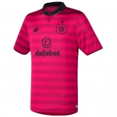 16-17 Celtic Away Red Soccer Jersey Shirt
