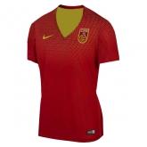 2016 China PR Home Red Women's Jersey Shirt