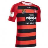 16-17 Western Sydney Wanderers Home Soccer Jersey Shirt