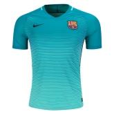 16-17 Barcelona Third Away Green Soccer Jersey Shirt