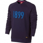 16-17 Barcelona Purple Sweat Top Shirt