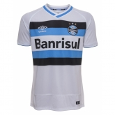 16-17 Grêmio FBPA Away White Soccer Jersey Shirt