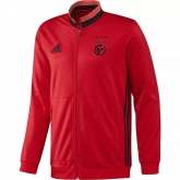 16-17 Benfica Red Three Stripe Training Jacket
