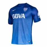 16-17 Boca Juniors Third Away Blue Jersey Shirt