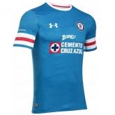 16-17 CDSC Cruz Azul Home Blue Soccer Jersey Shirt