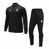 16-17 Juventus Black Training Kit(Jacket+Trouser)
