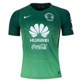 16-17 Club America Third Away Green Soccer Jersey Shirt