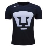 16-17 UNAM Pumas Third Away Black&Blue Jersey Shirt