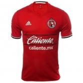16-17 Club Tijuana Home Red Soccer Jersey Shirt